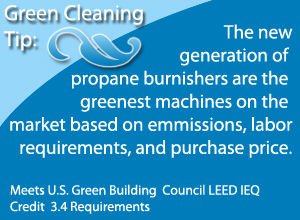 green propane stripping machines