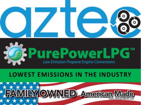 Aztec PurePowerLPG Propane Engines