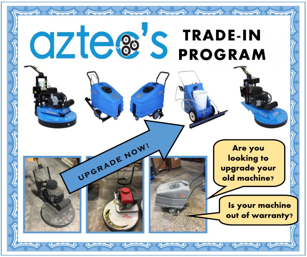 Aztec's Trade In Equipment Guarantee