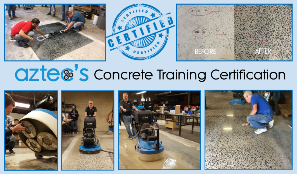 Aztec's Comprehensive Concrete Training Certification - Sign Up Today!