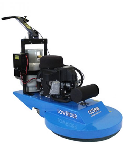 Aztec LowRider propane burnisher for concrete, terrazzo and VCT floors