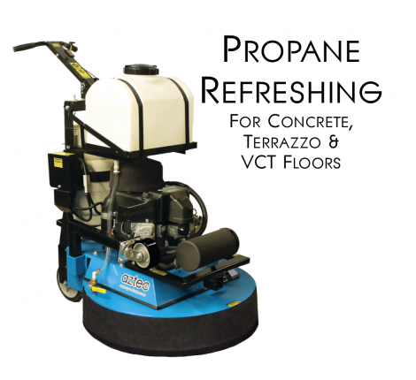 The Aztec Refresher, for concrete, terrazzo, VCT and wood floors