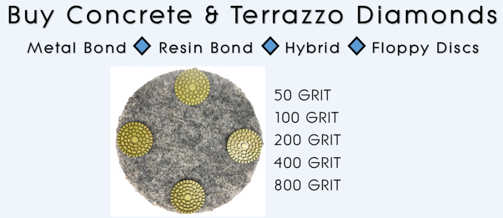 High performance segmented concrete diamond pads