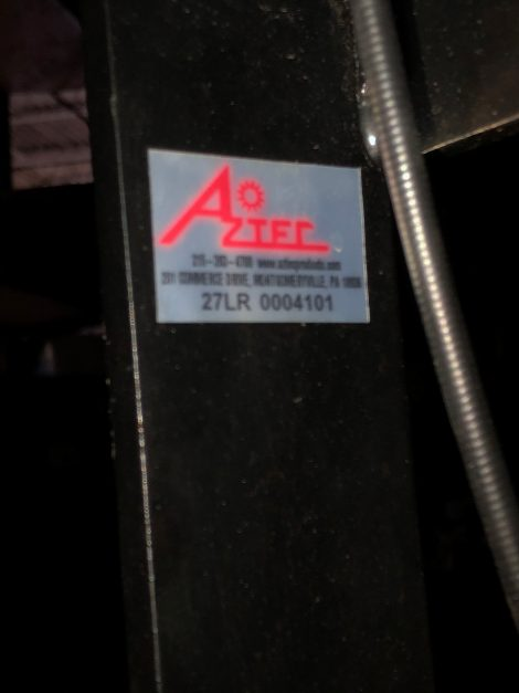 Used Aztec Lowrider propane burnisher 21 LR 000 4101 - 1