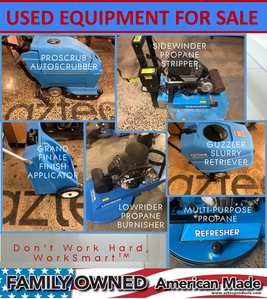 Used Aztec Equipment For Sale
