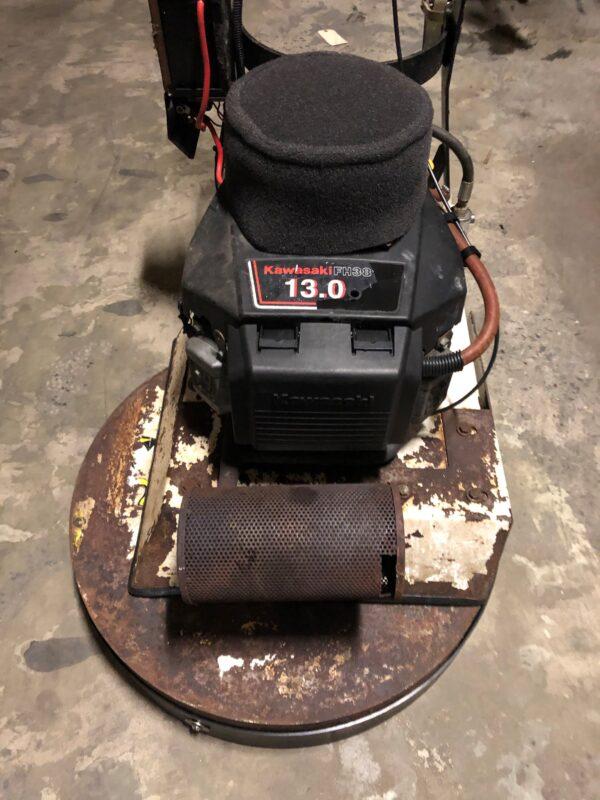 Refurbished Aztec Sidewinder 24 inch propane floor stripper SW 010 2394 - 1
