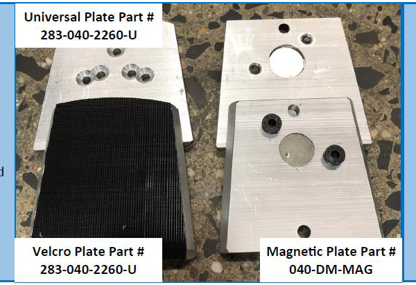 Aztec UltraGrind Adapter Plates